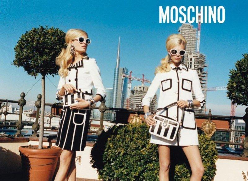 Moschino kampania wiosna lato 2013