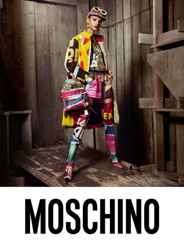 Moschino - kampania torebek jesień 2017/18
