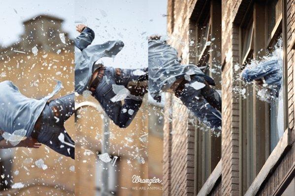Kampania Stunt marki Wrangler nagrodzona w prestiżowych konkursach