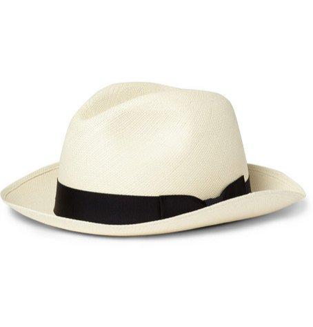 1. Kingsman, Lock & CO Hatters Grosgrain – Trimmed Panama Hat, cena ok. 1440 zł