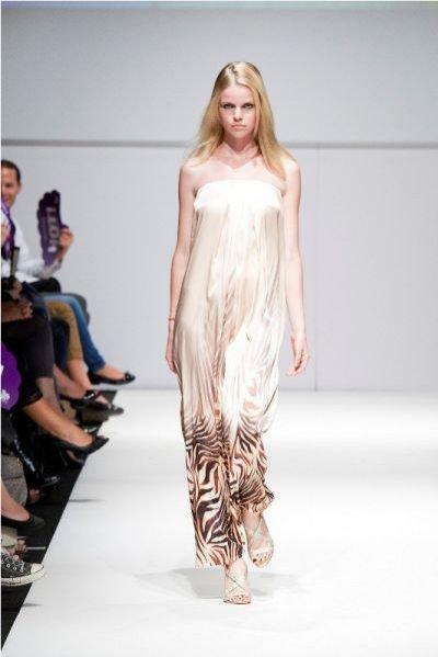Pokaz kolekcji Natalii Jaroszewskiej na Vienna Fashion Week 2011