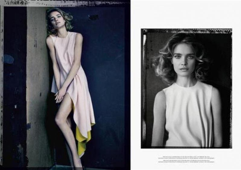 Natalia Vodianova dla Dior Magazine wiosna lato 2013