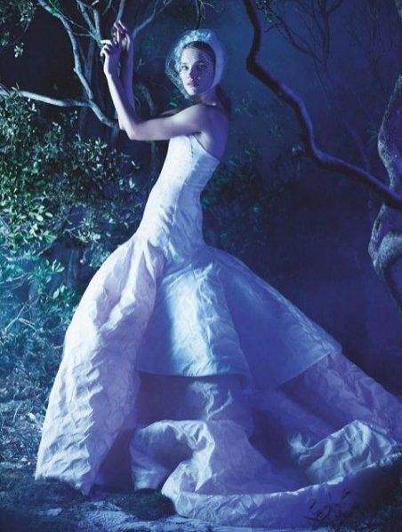 Natalia Vodianova w sesji haute couture dla marcowego Numero