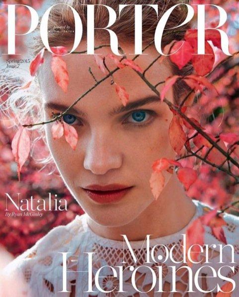 1. Natalia Vodianova w okładkowej sesji dla Porter Magazine wiosna 2015