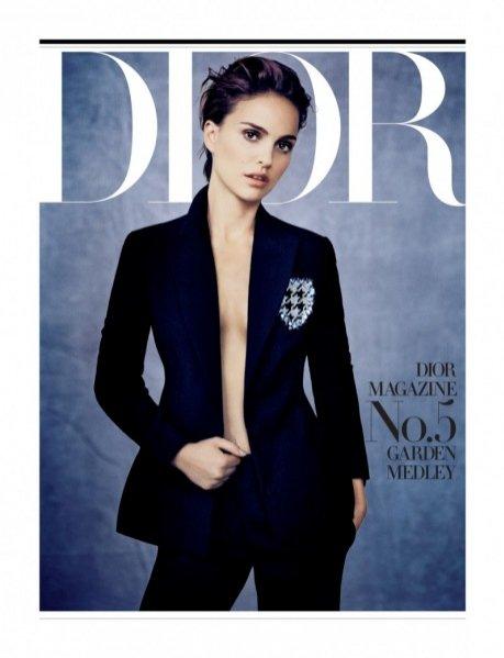 1. Natalie Portman dla Dior Magazine