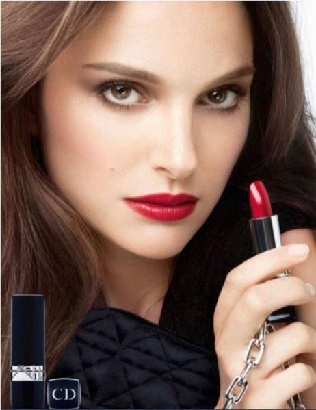 Natalie Portman w kampanii Rouge Dior
