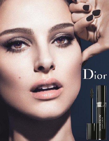 Natalie Portman w kampanii Diorshow New Look