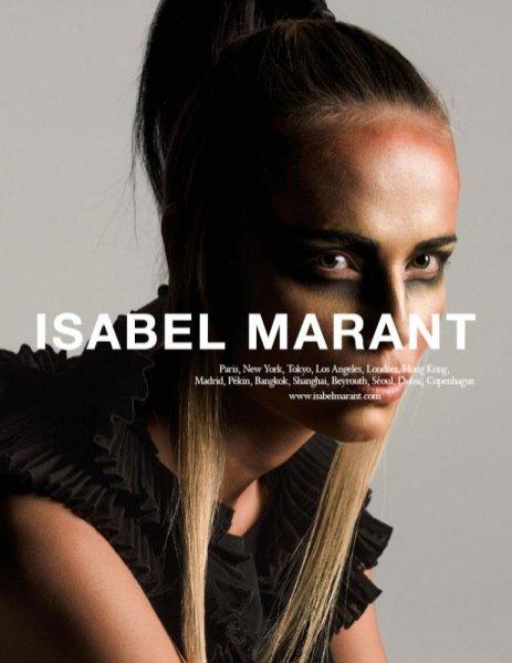 1. Natasha Poly w kampanii Isabel Marant wiosna lato 2015