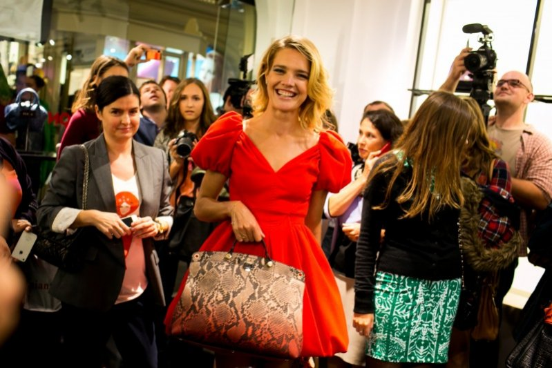 Natalia Vodianova na Fashion Night Out