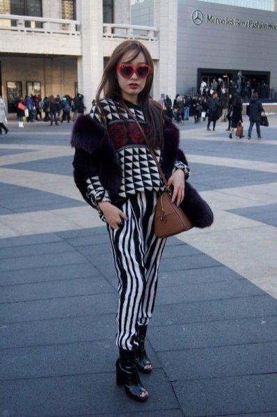 1. New York Fashion Week - moda uliczna część 5.