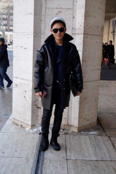 1. New York Fashion Week jesień zima 2014 - moda uliczna cz. 4