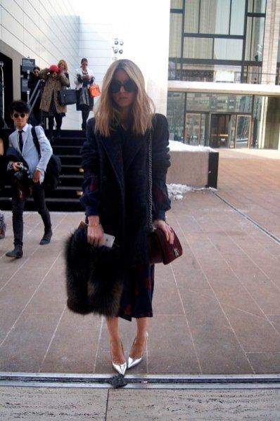 1. New York Fashion Week jesień zima 2014 - moda uliczna cz. 6