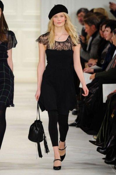 1. New York Fashion Week - pokaz kolekcji Ralph Lauren jesień zima 2014/2015