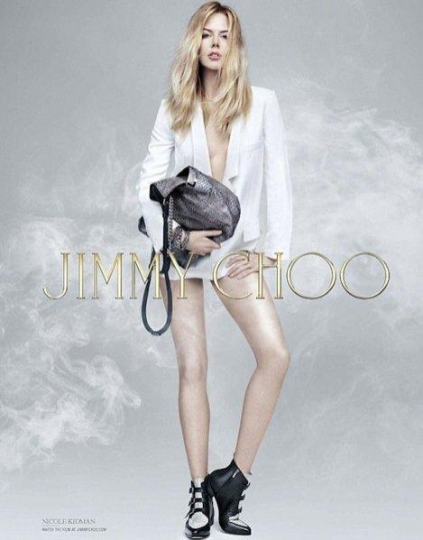 Nicole Kidman w kampanii Jimmy Choo pre-fall 2014