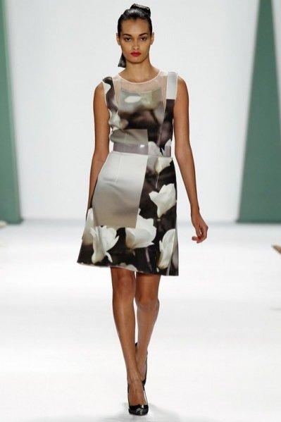 1. Carolina Herrera - kolekcja wiosna lato 2015