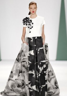NEW YORK FASHION WEEK - CAROLINA HERRERA - KOLEKCJA WIOSNA LATO 2015