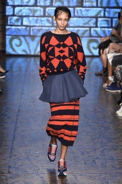 1. DKNY - kolekcja wiosna lato 2015