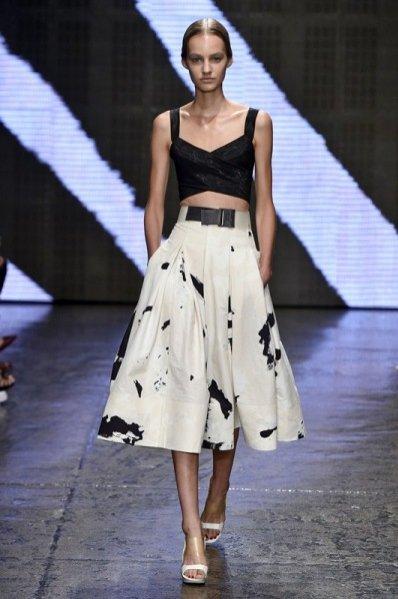 1. Donna Karan - kolekcja wiosna lato 2015