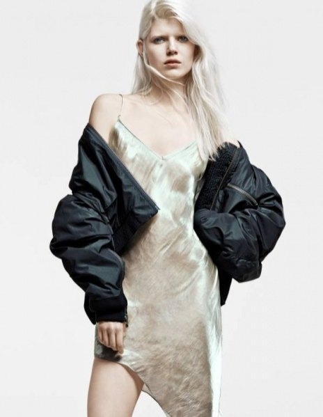 1.Ola Rudnicka w kampanii H&M Studio - sezon jesień zima 2014