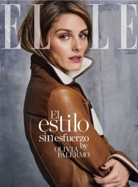1. Olivia Palermo w Elle Spain