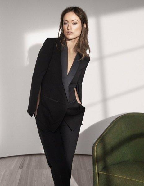 1. Olivia Wilde w kampanii H&M Conscious Exclusive wiosna 2015