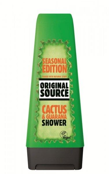 nowe zapachy żeli pod prysznic Original Source - kaktus
