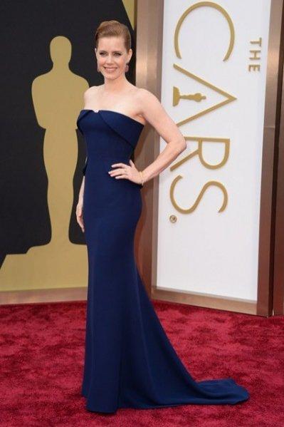1. Amy Adams w kreacji Gucci Première z biżuterią Tiffany & Co.