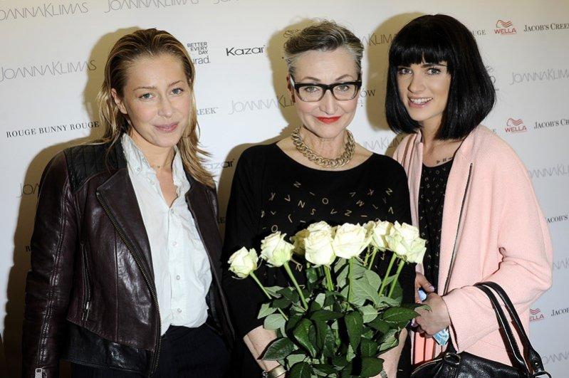 Otwarcie sezonu wiosna lato 2014 u Joanny Klimas - Katarzyna Warnke, Joanna Klimas, Julia Kuczyńska - Maffashion