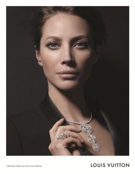 Christy Turlington w kampanii biżuterii Louis Vuitton jesie zima 2011