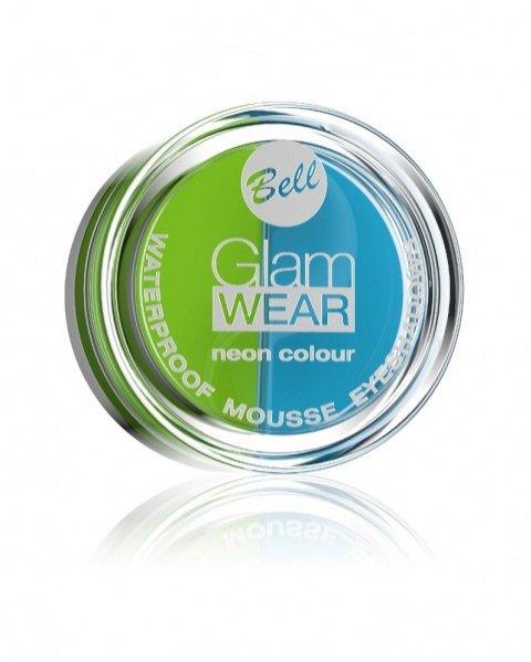 Wodoodporne cienie do powiek Bell Glam Wear Neon Colour – 16,70 PLN