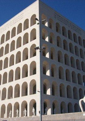 PALAZZO DELLA CIVILTA ITALIANA - NOWA SIEDZIBA FENDI