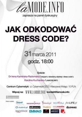 JAK ODKODOWAĆ DRESS CODE?