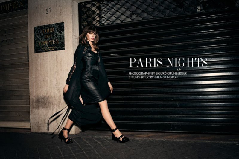 "edytorial ""Paris Nights"""
