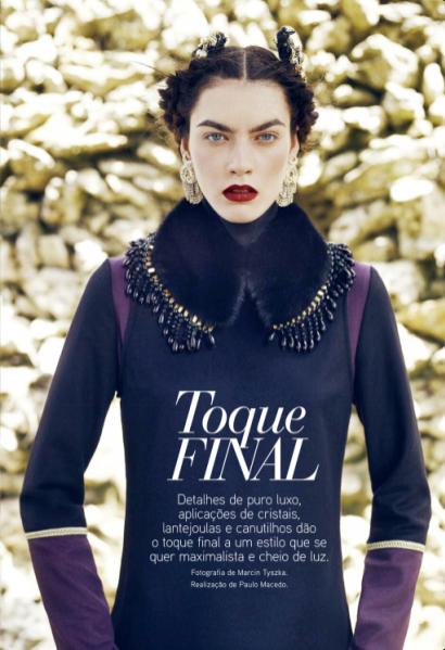 Patrycja Gardygajło w sesji dla Vogue Portugal