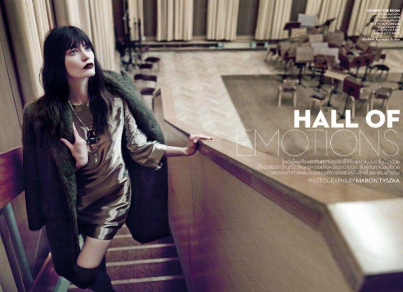 1. Patrycja Gardygajło w Vogue Thailand, sierpień 2014