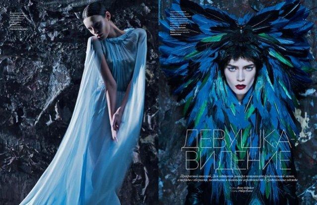 Patrycja Gardygajło w sesji dla Vogue Ukraine