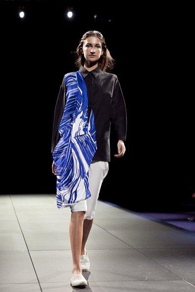 FashionPhilosophy Fashion Week październik 2013 - pokaz Pauliny Matuszelańskiej wiosna lato 2014 OFF Out Of Schedule