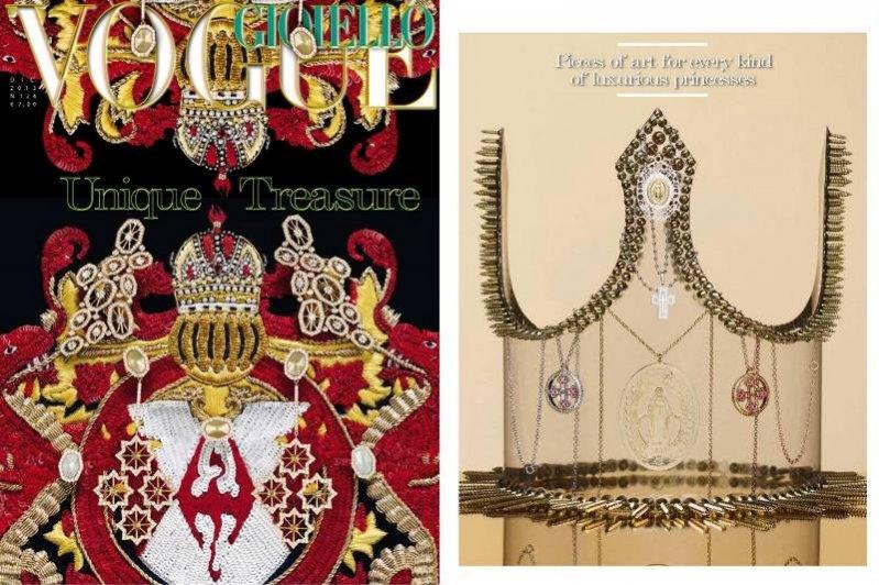 Korona autorstwa Pauliny Nowak w Vogue Accessory