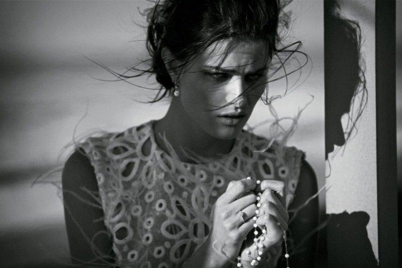 sesja w Vogue Paris, kwiecień 2012