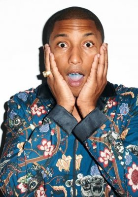 PHARELL WILLIAMS DLA GQ STYLE UK JESIEŃ ZIMA 2013/2014