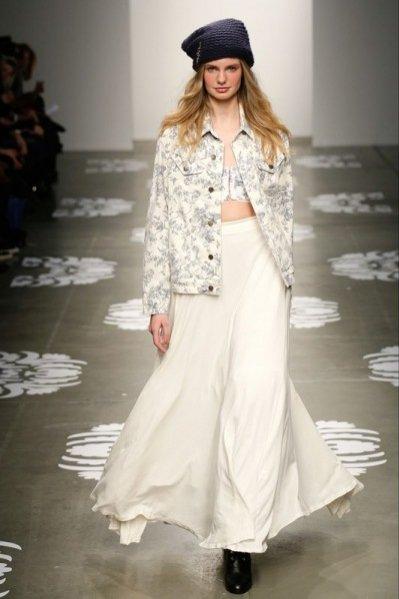 1. New York Fashion Week - pokaz kolekcji Wildfox jesień zima 2014/2015