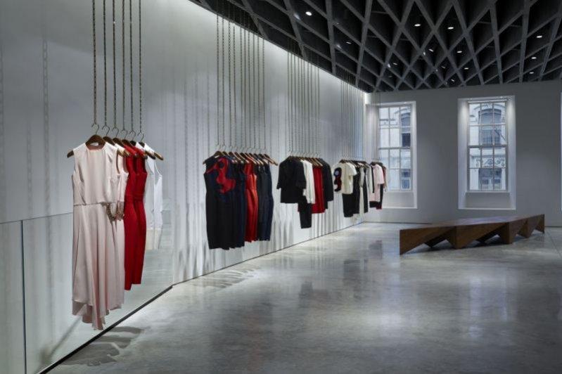 1. Wnętrza pierwszego londyńskiego butiku Victorii Beckham