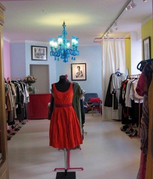 Vintage butik Pretty in Pink