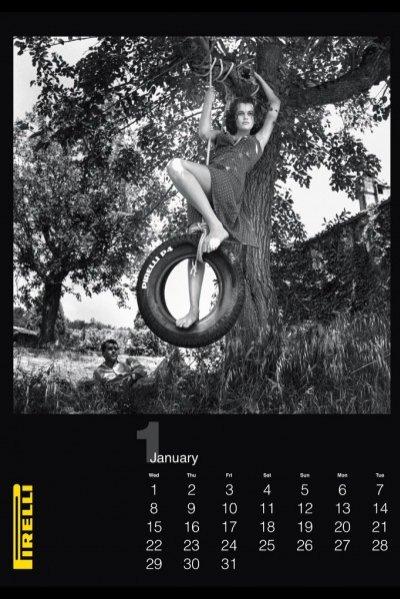 1. Kalendarz Pirelli 2014