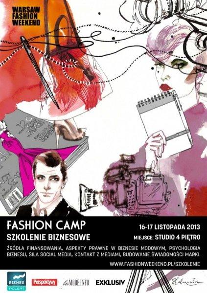 Fashion Camp - warsztaty