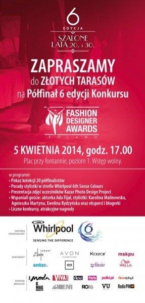 Półfinał szóstej edycji Fashion Designer Awards