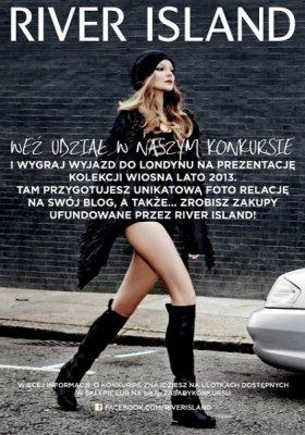 WYGRAJ WYJAZD DO LONDYNU Z RIVER ISLAND!