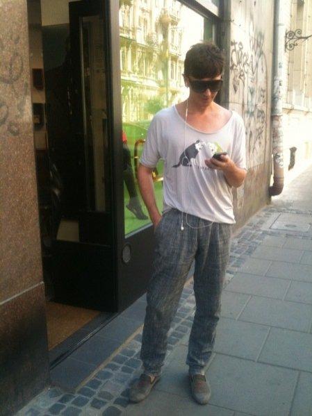 moda uliczna - projektant Plich