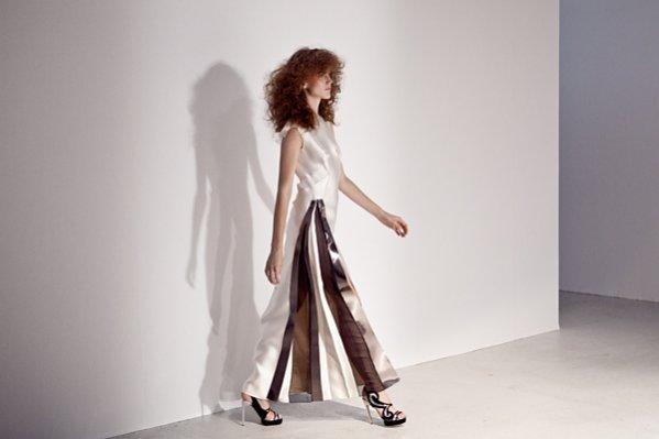 1. Gosia Baczyńska na Paris Fashion Week - pokaz kolekcji I Feel Love wiosna lato 2014