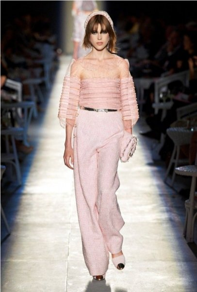 pokaz haute couture Chanel jesień zima 2012/2013